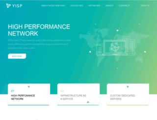 yisp.nl screenshot