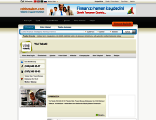yivi_tekstil.rehberalem.com screenshot