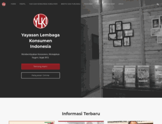 ylki.or.id screenshot