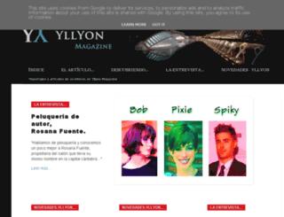 yllyon.blogspot.com.es screenshot