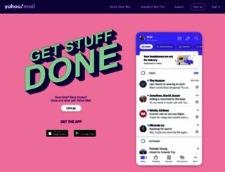 ymail.com screenshot