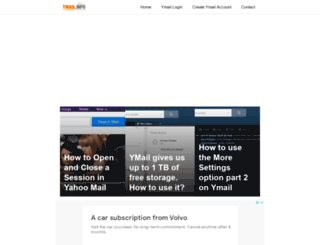 ymail.info screenshot