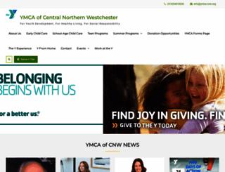 ymca-cnw.org screenshot