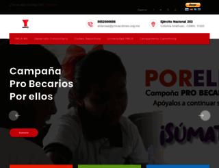 ymca.org.mx screenshot