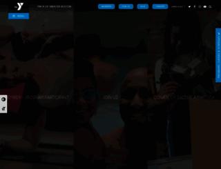 ymcaboston.org screenshot