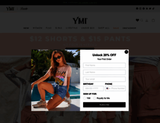 ymijeans.com screenshot