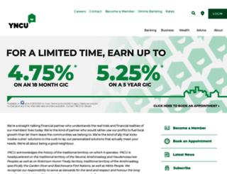 yncu.com screenshot