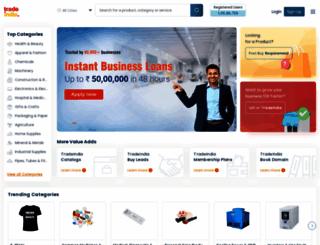 ynmpanglobaltrade.tradeindia.com screenshot