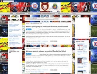 yoamoelfutbolmexicano.blogspot.fr screenshot