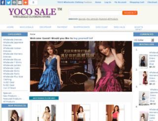 yocosale.com screenshot