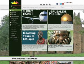 yodabyssiniatour.com screenshot