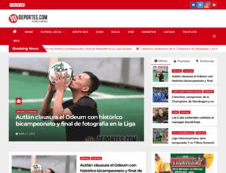 yodeportes.com screenshot