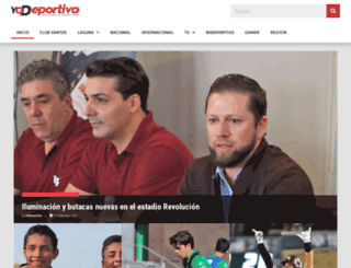 yodeportivo.com screenshot