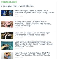 yoemake.com screenshot