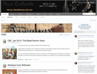 yog-sothoth.com screenshot