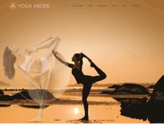 yoga-abode.com screenshot