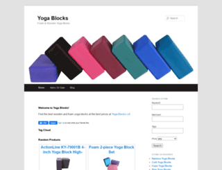 yoga-blocks.co screenshot