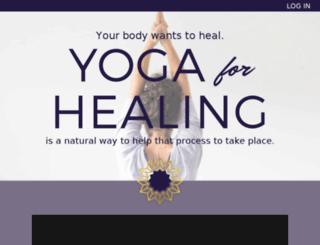 yoga-for-healing.com screenshot
