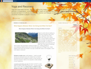 yoga-recovery.blogspot.mx screenshot