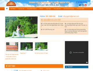 yoga.com.vn screenshot