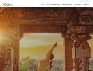 yoga.in screenshot