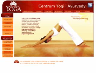 yoga.krakow.pl screenshot