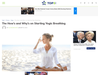 yoga.top5.com screenshot