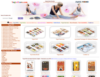 yoga4cure.com screenshot