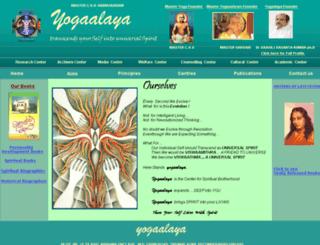 yogaalaya.org screenshot