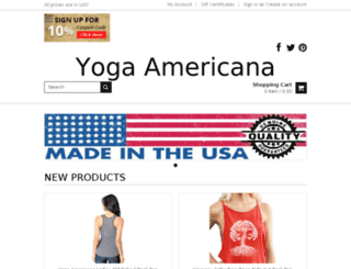 yogaamericana.com screenshot