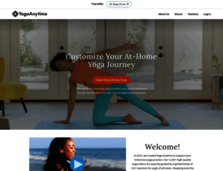 yogaanytime.com screenshot