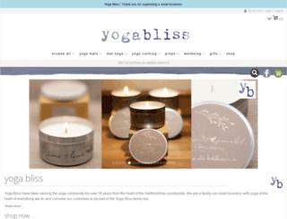 yogabliss.co.uk screenshot