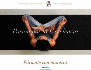 yogacentersc.es screenshot