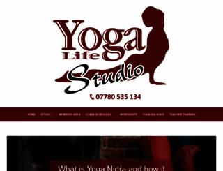 yogaeastbourne.com screenshot