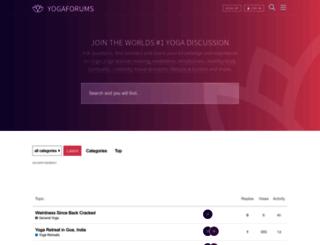 yogaforums.com screenshot
