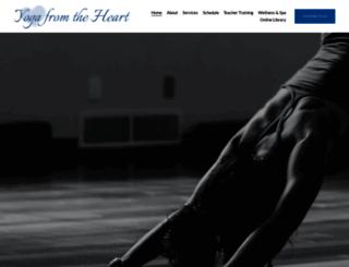 yogafromtheheart.com screenshot