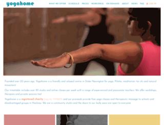 yogahome.com screenshot