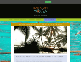 yogaindia.co.uk screenshot