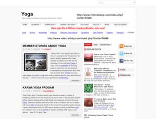 yogaintamilnadu.blogspot.com screenshot