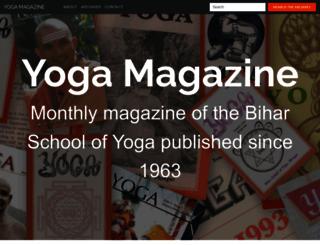 yogamag.net screenshot