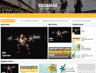 yogamag.nl screenshot