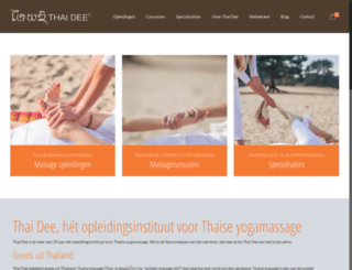 yogamassage.nl screenshot