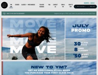 yogamovement.com screenshot