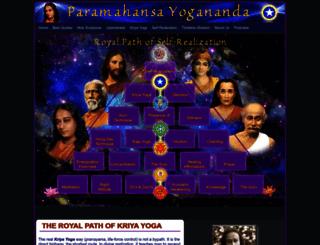 yogananda.com.au screenshot