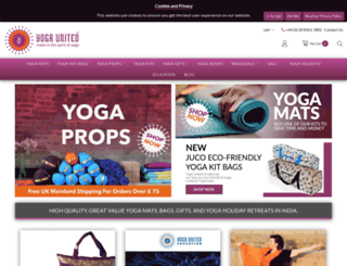 yogaunited.co.uk screenshot