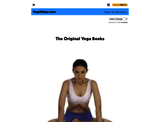 yogavidya.com screenshot