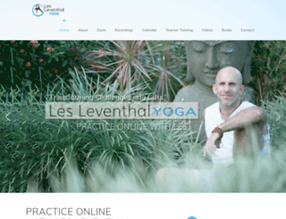 yogawithles.com screenshot