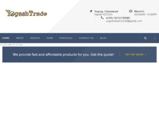 yogeshexpo.com screenshot