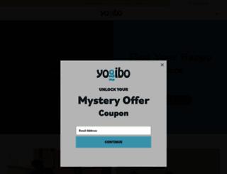 yogibo.com screenshot