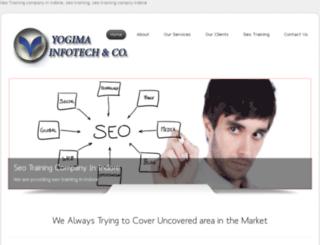 yogimainfotech.com screenshot